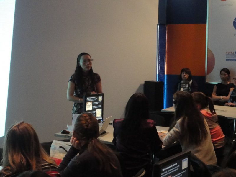 Фото к В Информационном центре атомной отрасли (ИЦАО) прошла очередная встреча «Разговорного клуба» проекта «Breathe globally».