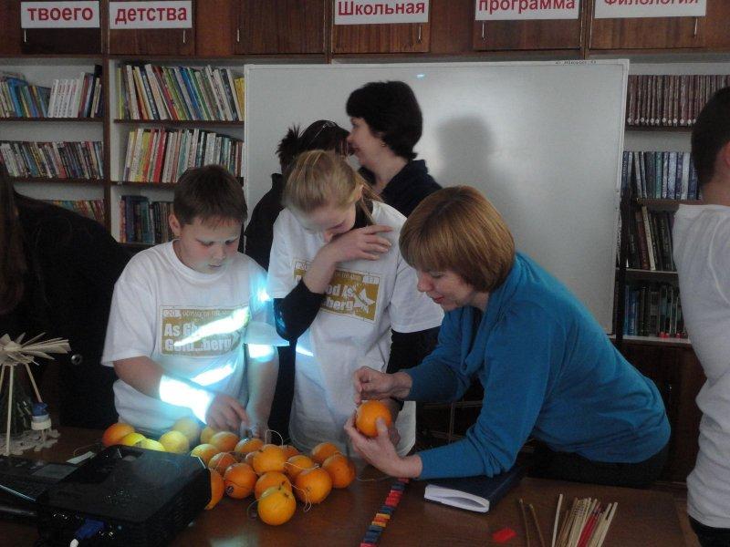Фото к Добудем энергию из апельсина!