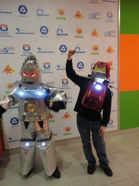 Фото к От Челябинска Калининграду — «роботовское» привет!