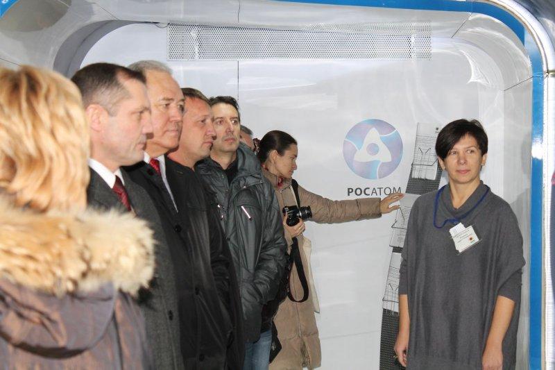 Фото к Поезд инноваций в Челябинске