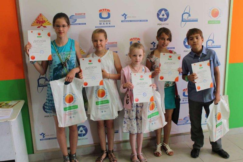 Фото к За чистоту на планете в Информационном центре атомной отрасли Челябинска