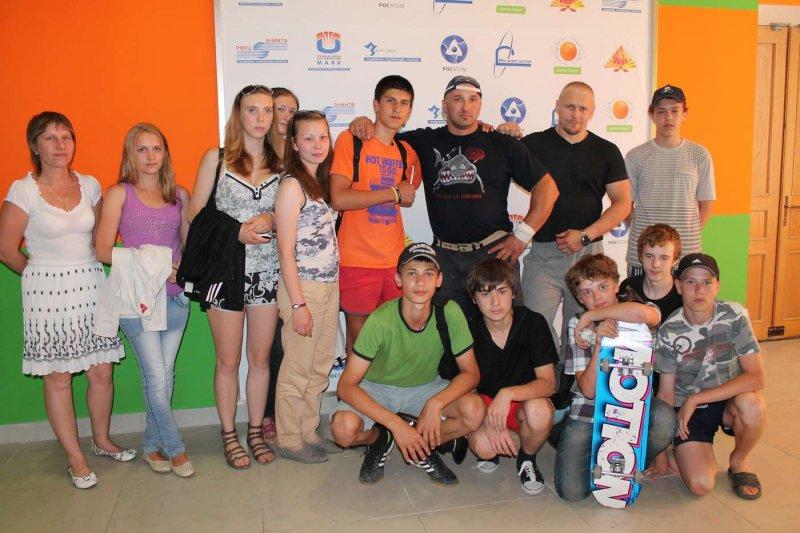 Фото к Силачи Руси в Информационном центре атомной отрасли Челябинска