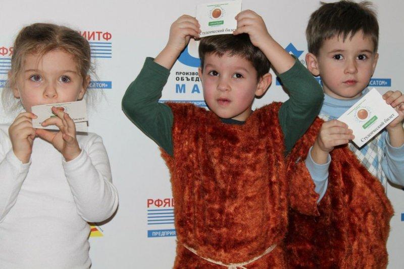 Фото к Юные изобретатели получили студенческие билеты  в День студента