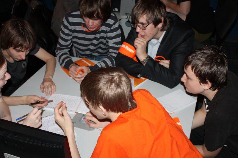 Фото к Победители регионального тура I Всероссийского чемпионата среди школьников «Формула интеллекта»