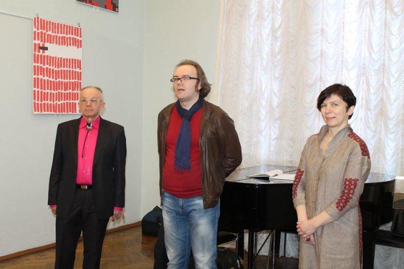 Фото к Международная плакатная акция «Маяковский-120» открылась в Челябинске