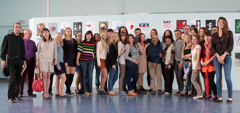 Фото к Постер для будущего: в Челябинске прошел мастер-класс по созданию плакатов