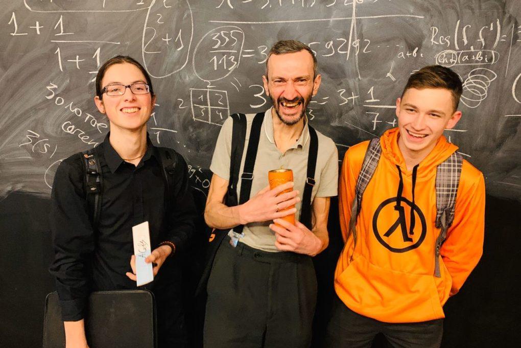 Математик Алексей Савватеев поздравил ИЦАЭ с Днём Рождения